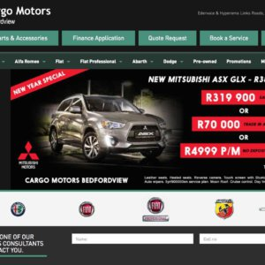 Cargo Motors Bedfordview – Facebook Page To New Heights