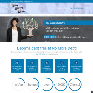 No More Debt – Lead Generation From 3% To 22% In Year 1