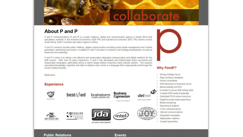 PandP Communications – Ranking Naturally Through SEO