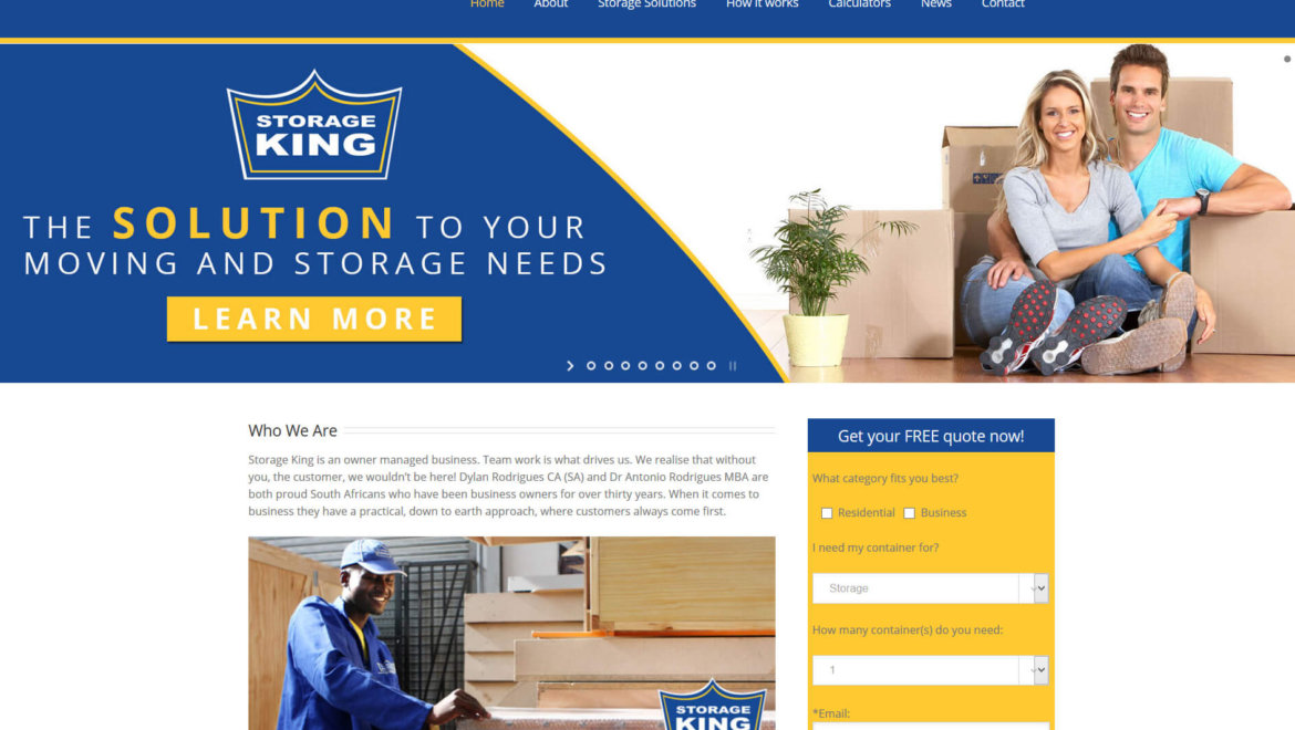 Storage King – Doubling Online Sales Within 2 Years